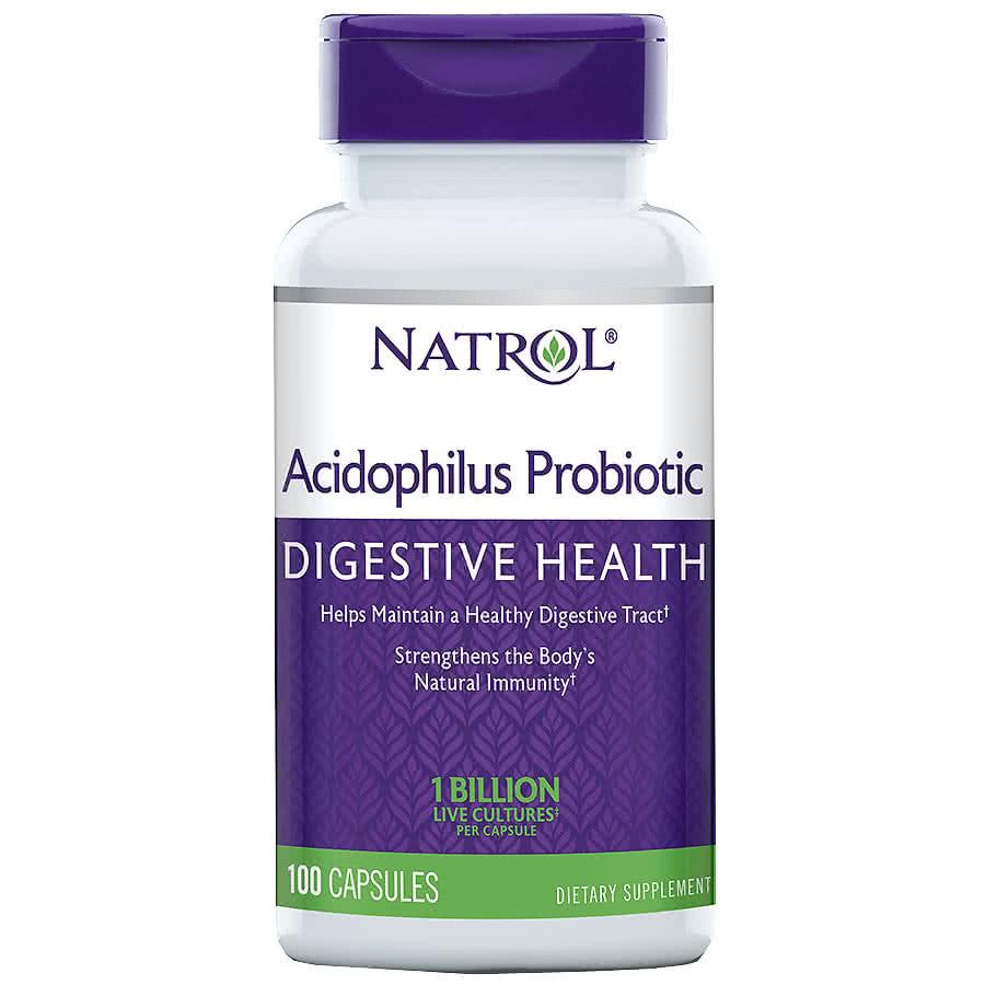 Natrol Acidophilus 100 kap.