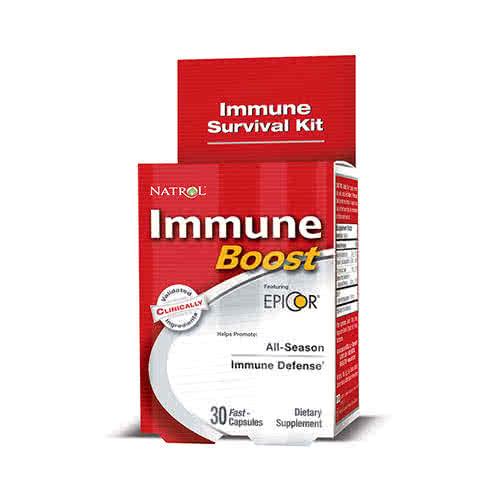 Natrol Immune Boost 30 kap.