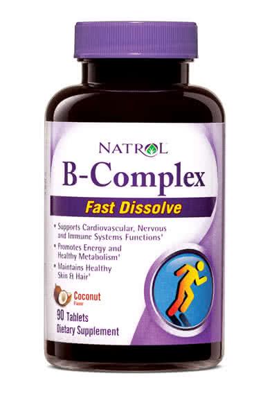 Natrol B-Complex Fast Dissolve 90 tab.