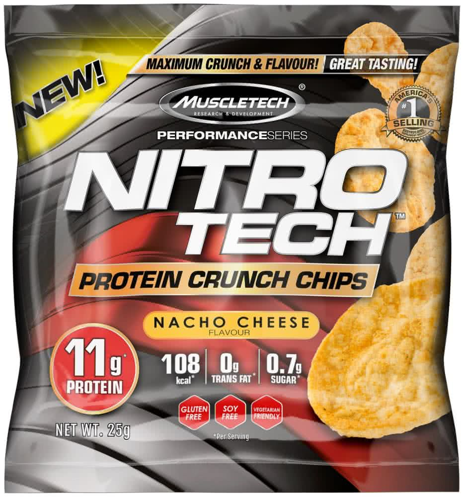 MuscleTech Nitro-Tech Protein Crunch Chips  25 gr.