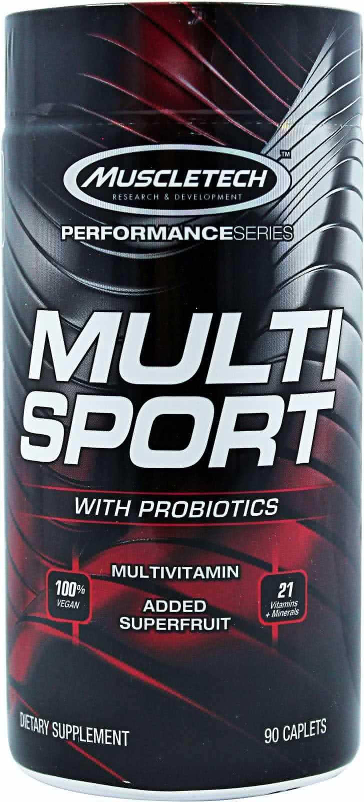 MuscleTech Multi Sport Probiotic 90 kap.