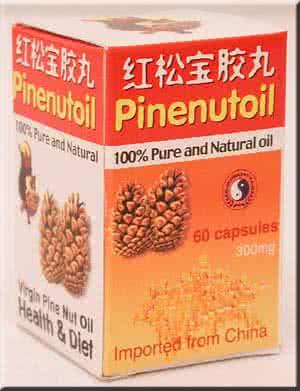 Dr. Chen Pinenut Oil Caps 60 kap.