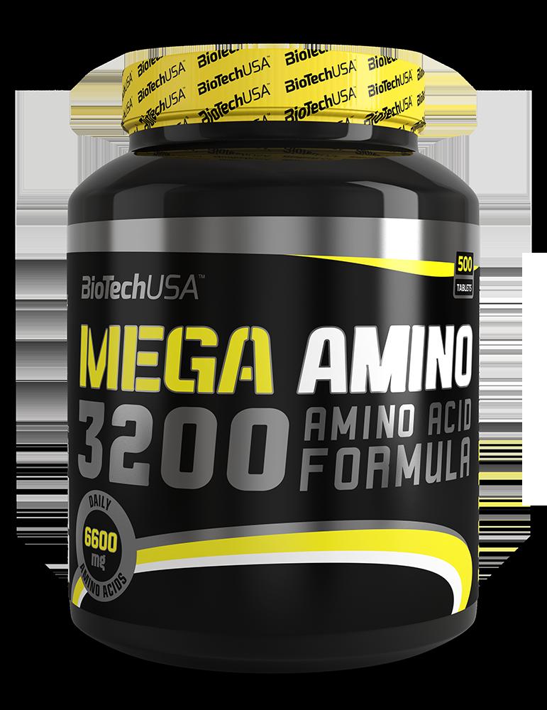 BioTech USA Mega Amino 3200 500 tab.
