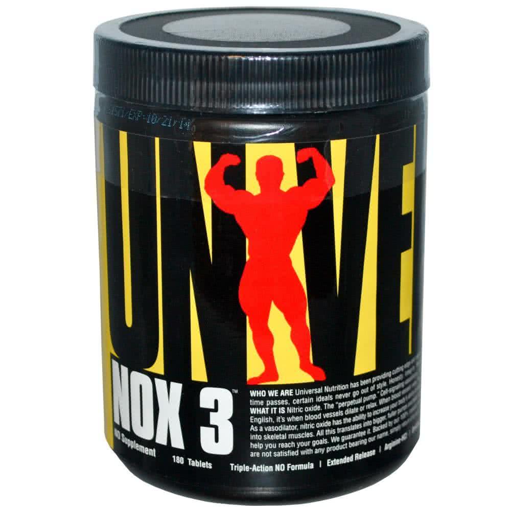 Universal Nutrition NOX-3 180 tab.