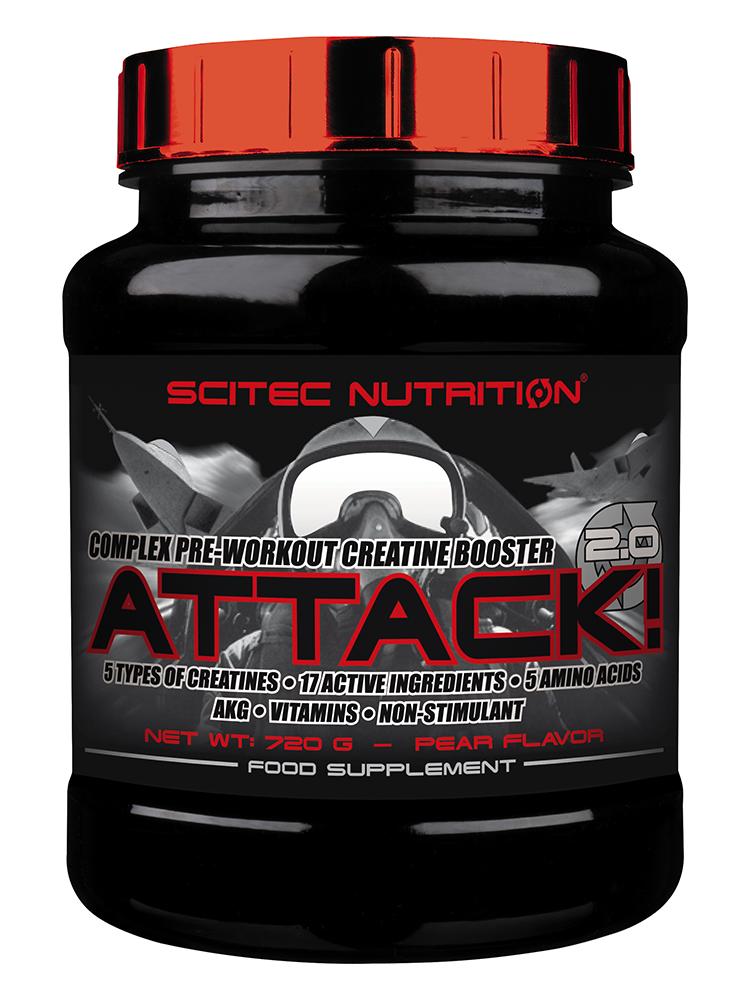 Scitec Nutrition Attack! 2.0 720 gr.