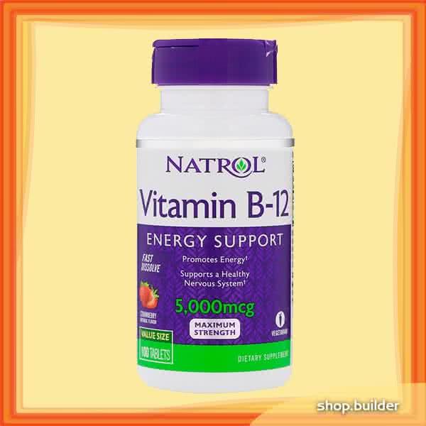Natrol Vitamin B-12 Fast Dissolve 100 tab.