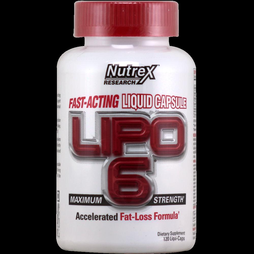 NutreX Research Lipo-6 120 g.k.