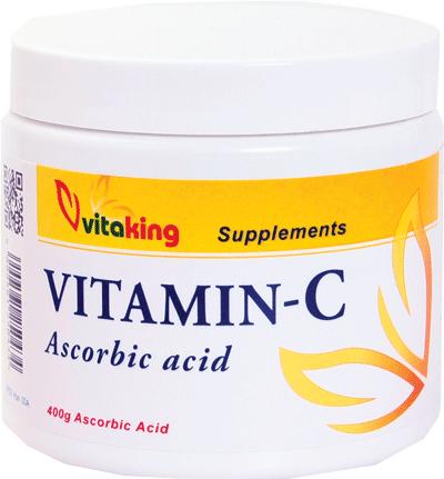 VitaKing Vitamin C (askorbinska kiselina) 400 gr.