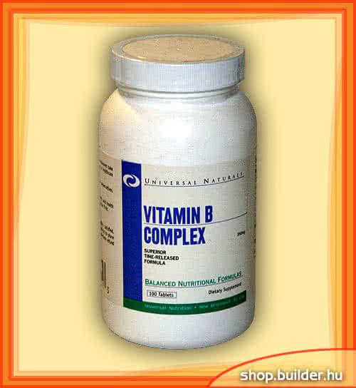Universal Nutrition B-Complex 100 tab.