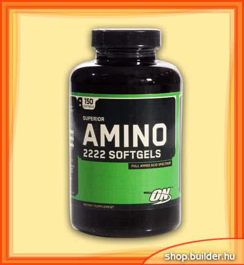 Optimum Nutrition Amino 2222 Softgels 150 g.k.