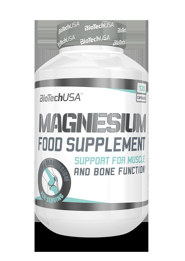 BioTech USA Magnesium 120 kap.