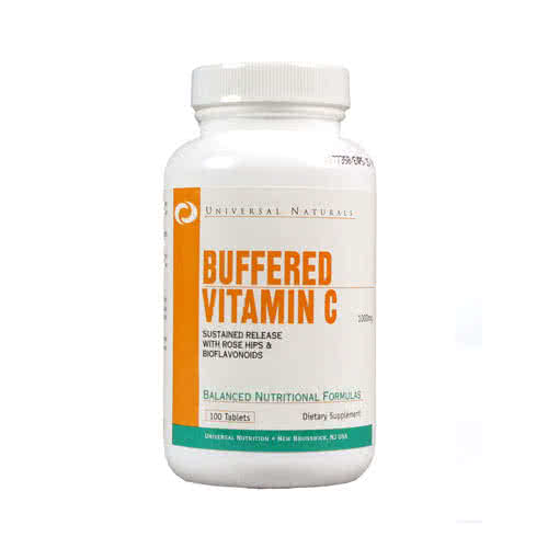 Universal Nutrition Buffered Vitamin C 100 tab.