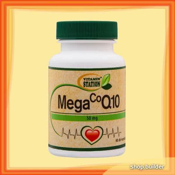 Vitamin Station Mega CoQ10 60 kap.