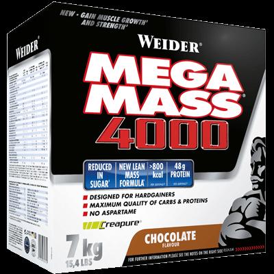 Weider Nutrition Giant Mega Mass 4000 7 kg