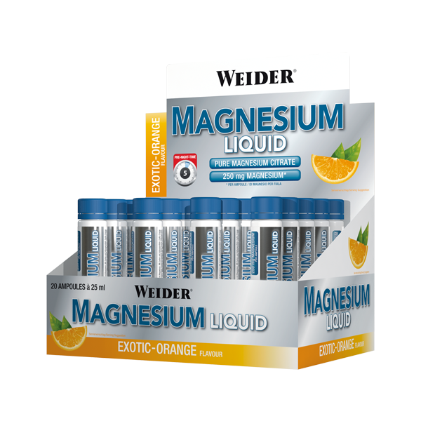 Weider Nutrition Magnesium Liquid 20x25 ml