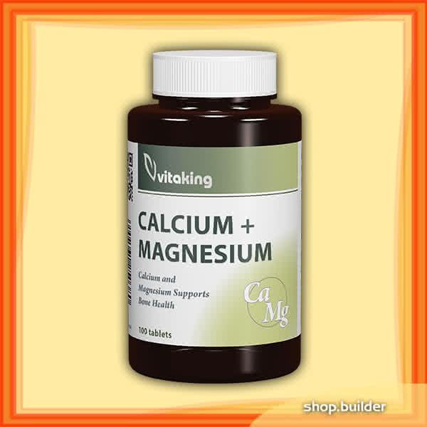 VitaKing Calcium+ Magnesium 100 tab.