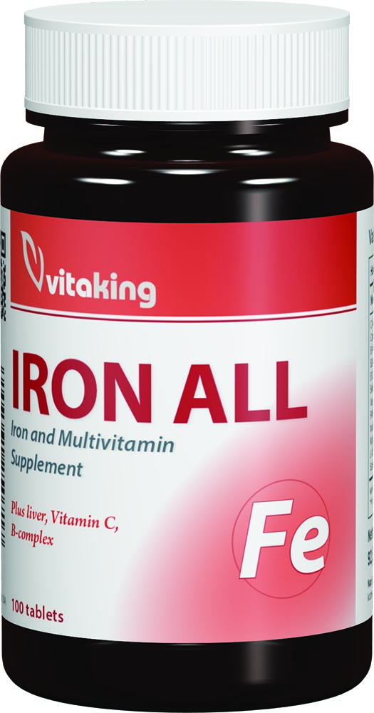 VitaKing Iron All 100 tab.