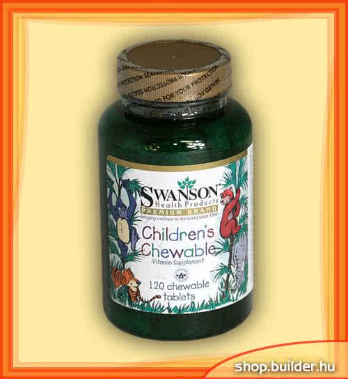 Swanson Childrens Chewable 120 žvakaćih tableta