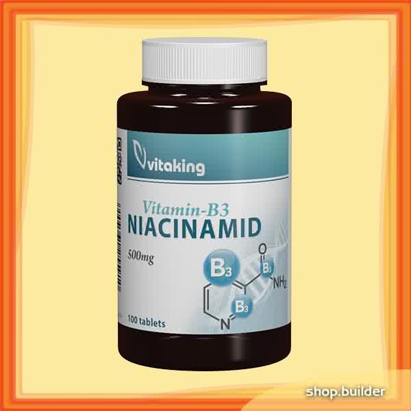 VitaKing Niacinamid (B3 vitamin) 100 tab.