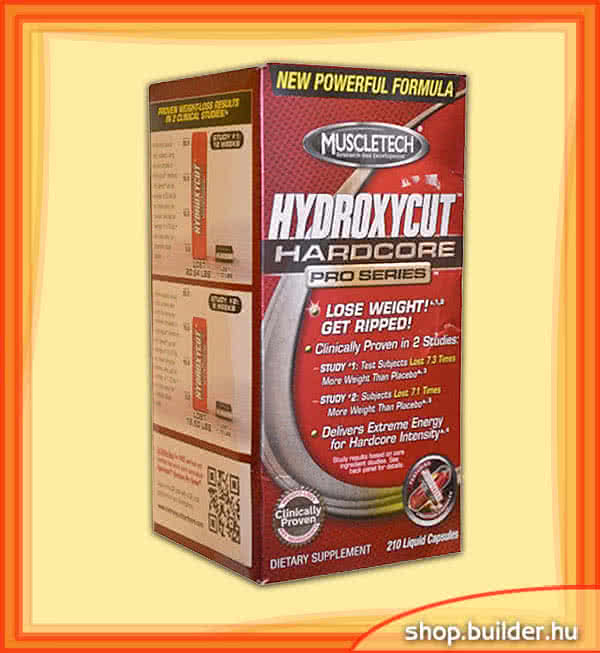 MuscleTech Hydroxycut Hardcore Pro Series 210 g.k.