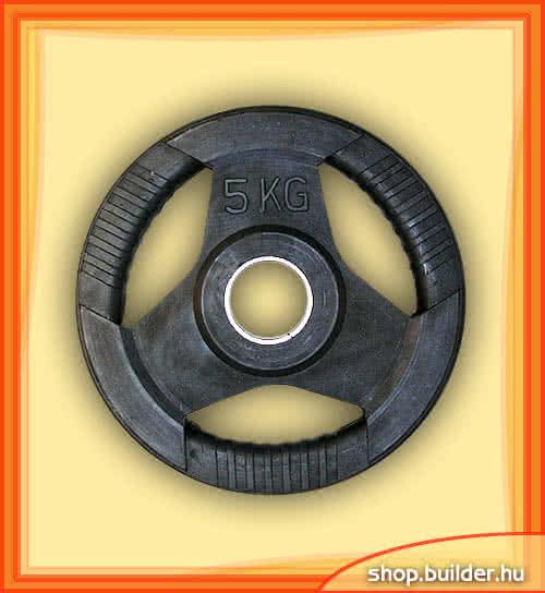 Ostala sportska oprema Rubber plate with grip 50mm 5 kg