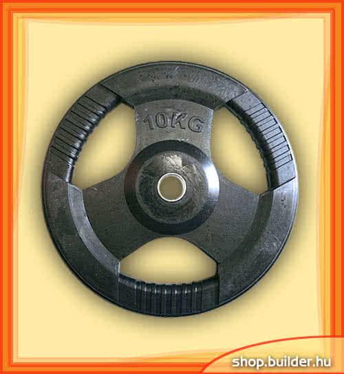 Ostala sportska oprema Rubber plate with grip 50mm 10 kg