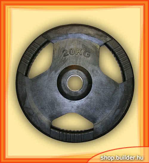 Ostala sportska oprema Rubber plate with grip 50mm 20 kg
