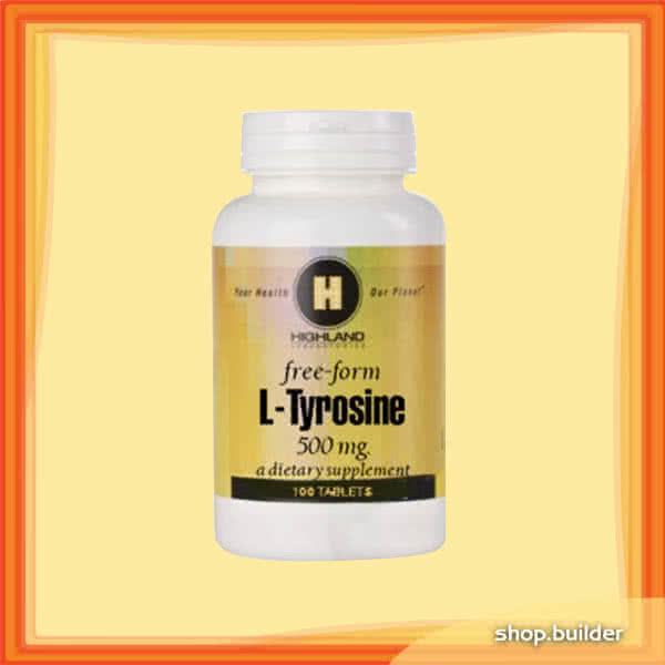 Highland Tyrosine 100 kap.