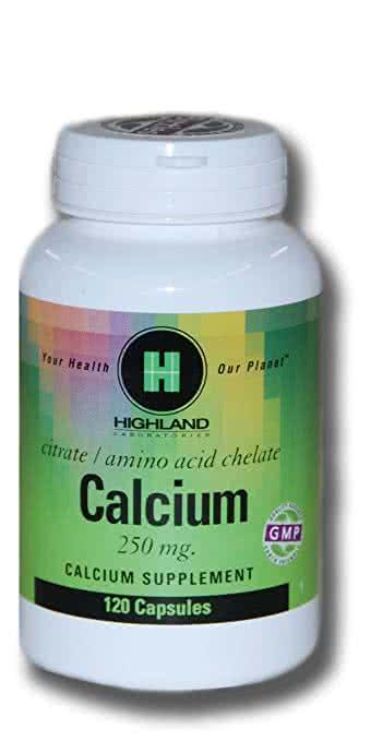 Highland Calcium 120 kap.