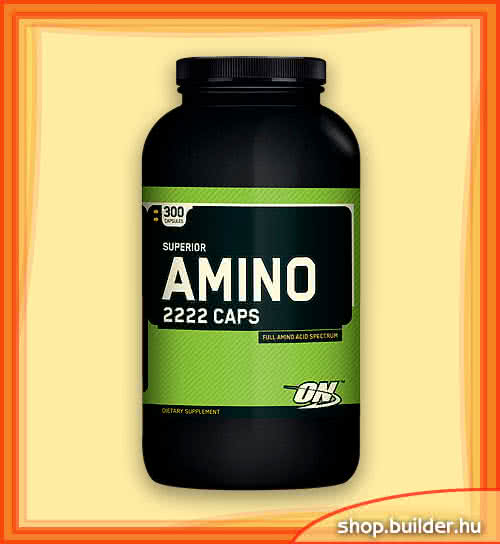 Optimum Nutrition Amino 2222 Caps 300 kap.