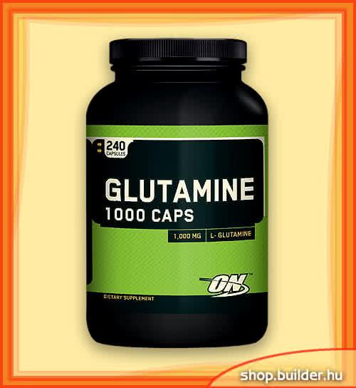 Optimum Nutrition Glutamine 1000 Caps 240 kap.