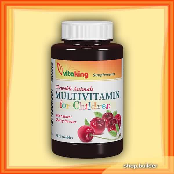 VitaKing Multivitamin for children 90 žvakaćih tableta