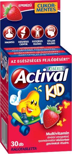 Beres Actival Kid 30 žvakaćih tableta