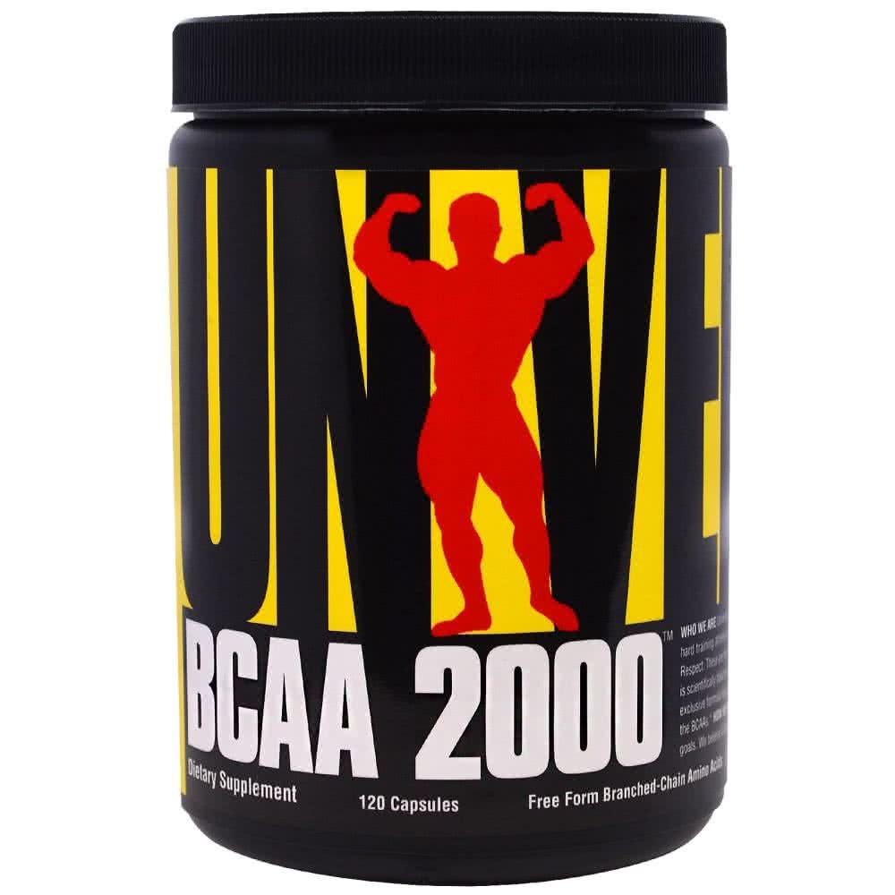 Universal Nutrition BCAA 2000 120 tab.