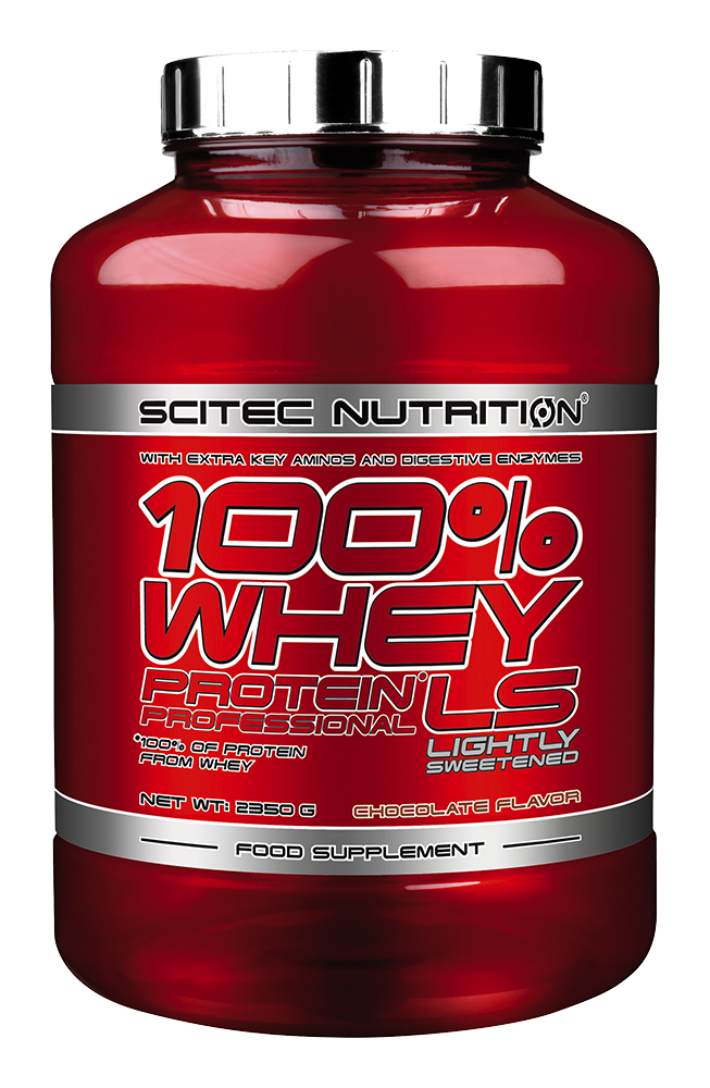 Scitec Nutrition 100% Whey Protein Professional Lightly Sweetened 2,35 kg