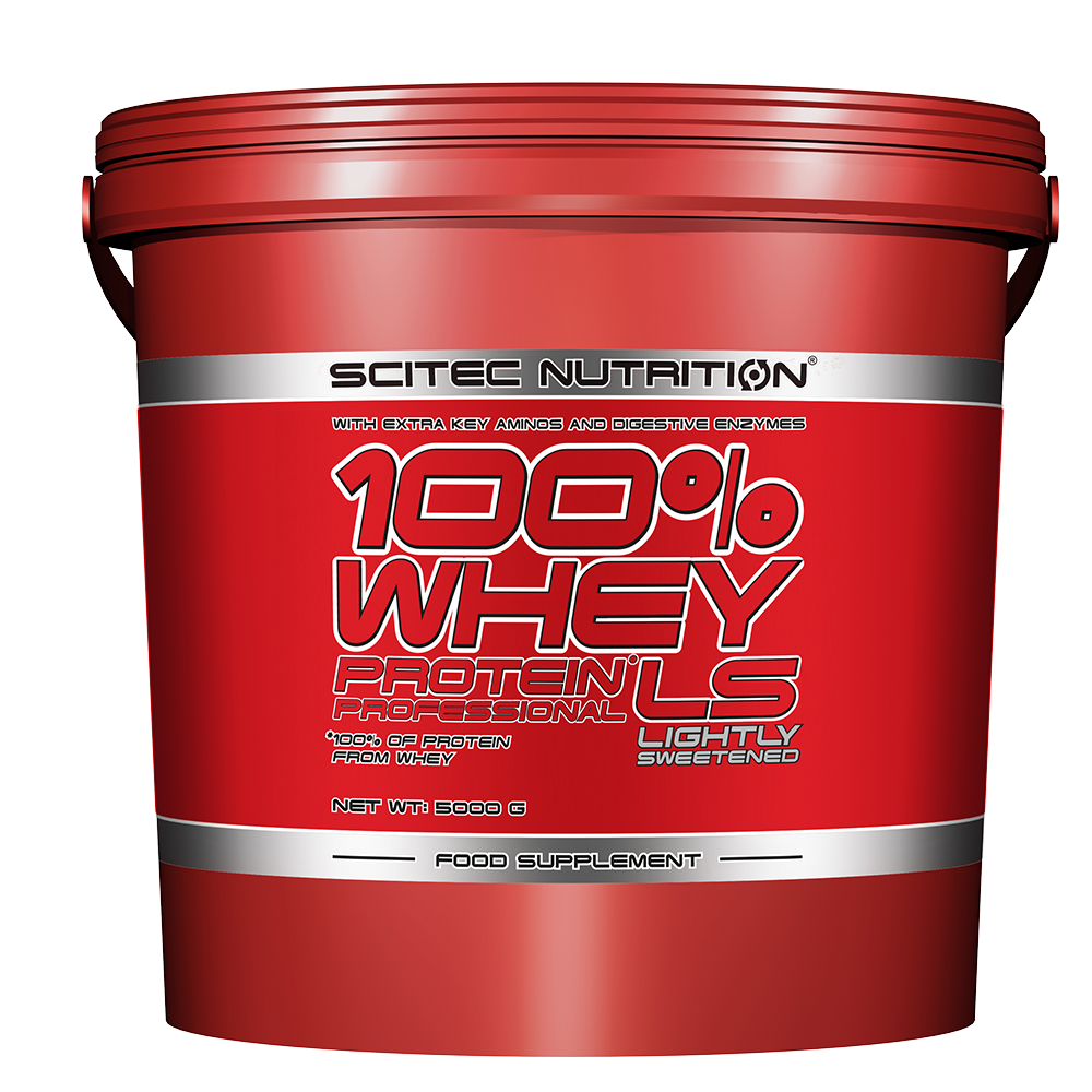 Scitec Nutrition 100% Whey Protein Professional Lightly Sweetened 5 kg