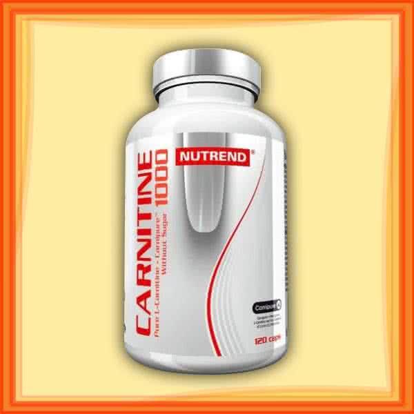 Nutrend Carnitin 1000 120 kap.