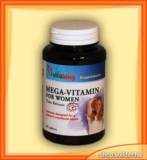 VitaKing Mega Vitamin for Women 90 tab.
