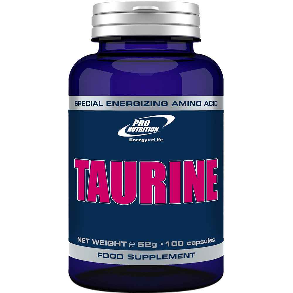 Pro Nutrition Taurine 100 kap.