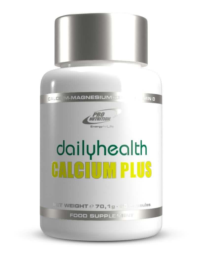 Pro Nutrition Dailyhealth Calcium Plus 60 kap.