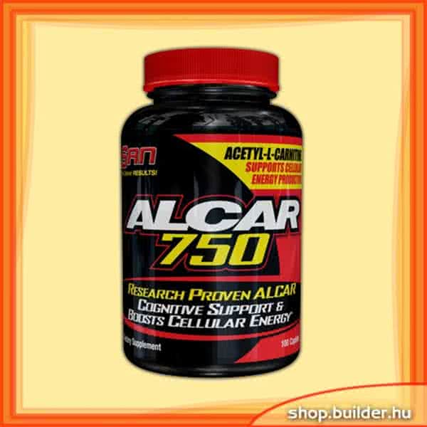 San Nutrition ALCAR 750 Caps 100 kap.