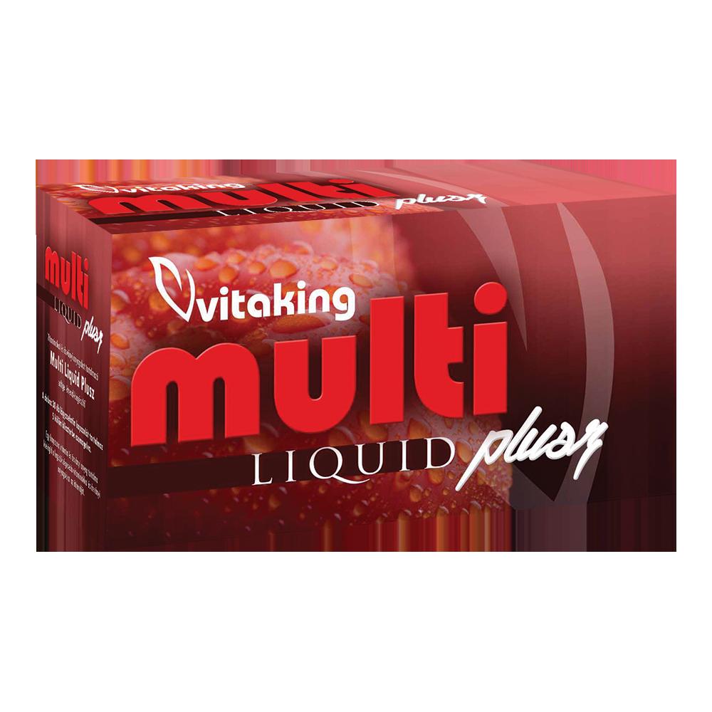 VitaKing Multi Liquid Plus 30 kap.