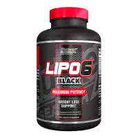 NutreX Research Lipo-6 Black Maximum  (120 kap.)