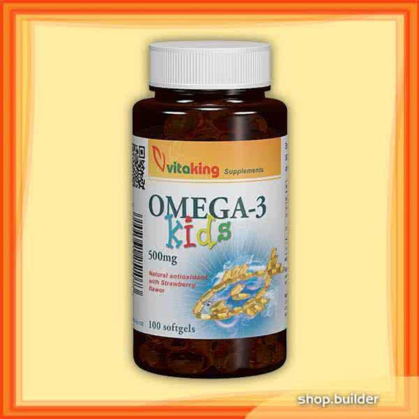 VitaKing Omega-3 Kids 100 g.k.