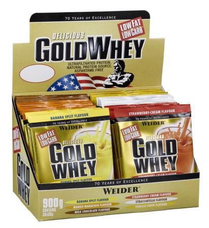 Weider Nutrition Gold Whey (100x15 gr.) 1,5 kg