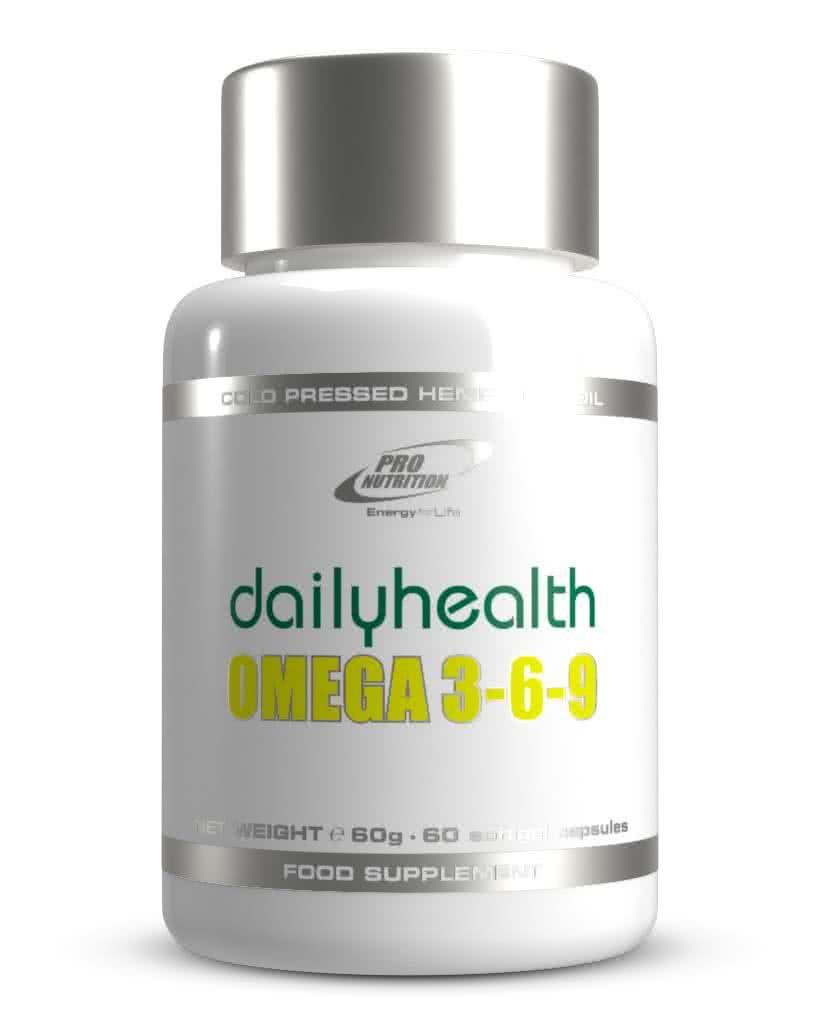 Pro Nutrition Dailyhealth Omega 3-6-9 60 kap.