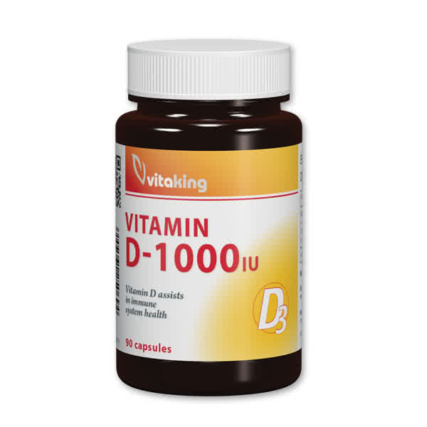 VitaKing Vitamin D-1000 90 kap.
