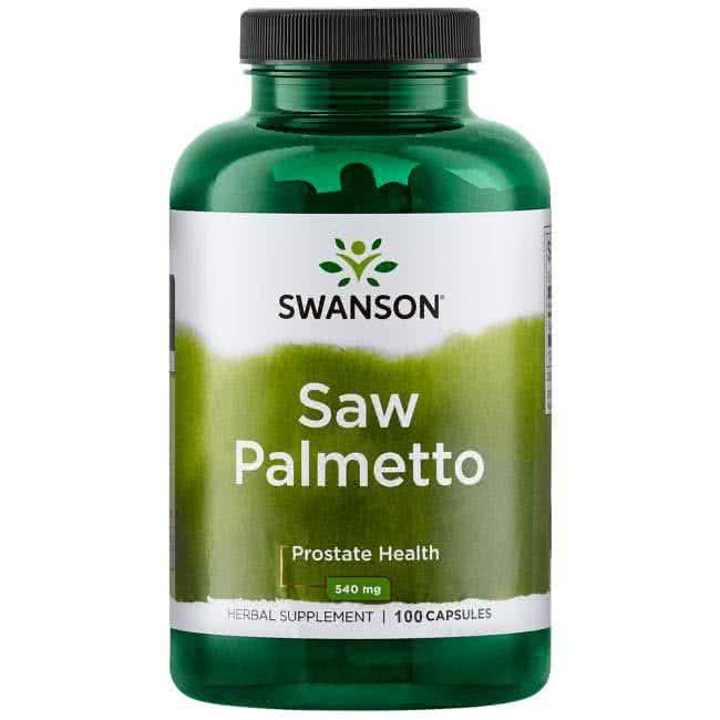 Swanson Saw Palmetto 100 kap.