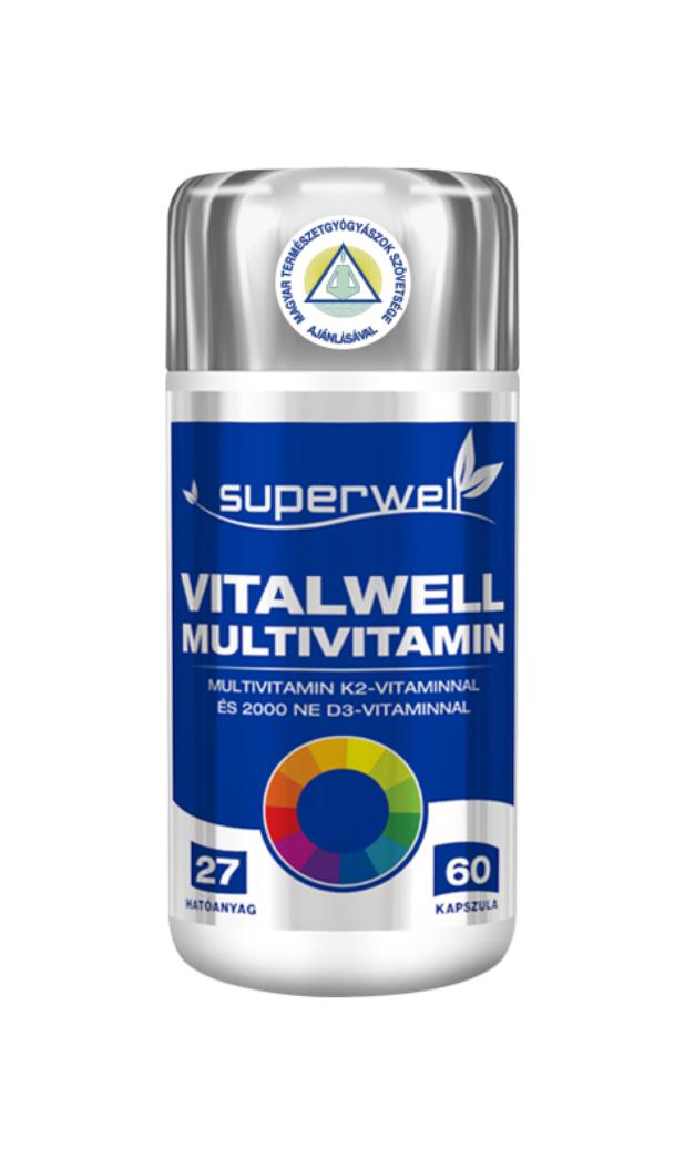 Superwell Vitalwell Multivitamin 60 kap.