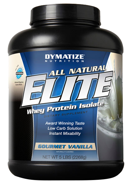 Dymatize All Natural Elite Whey 2,268 kg